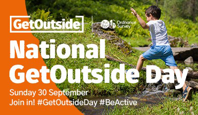 National GetOutside Day email banner