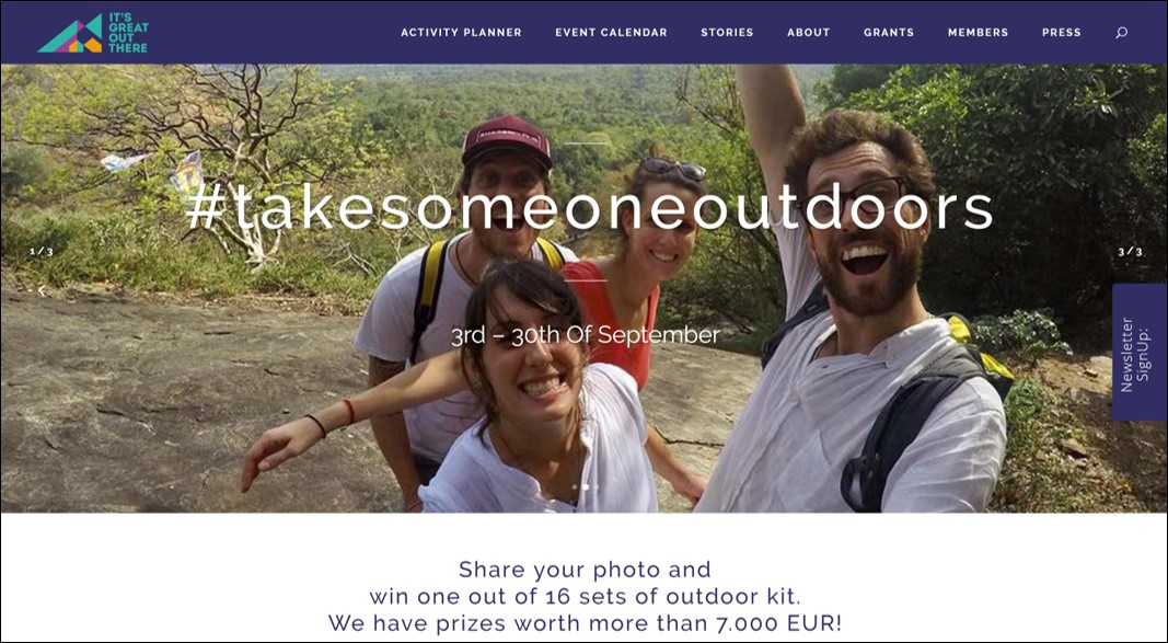 Take Someone Outdoors 2018